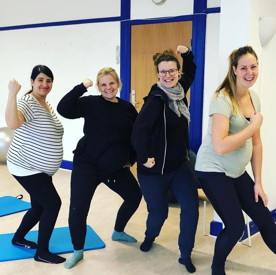 Seje og stærke gravide, træning for gravide og fødselsforberedelse