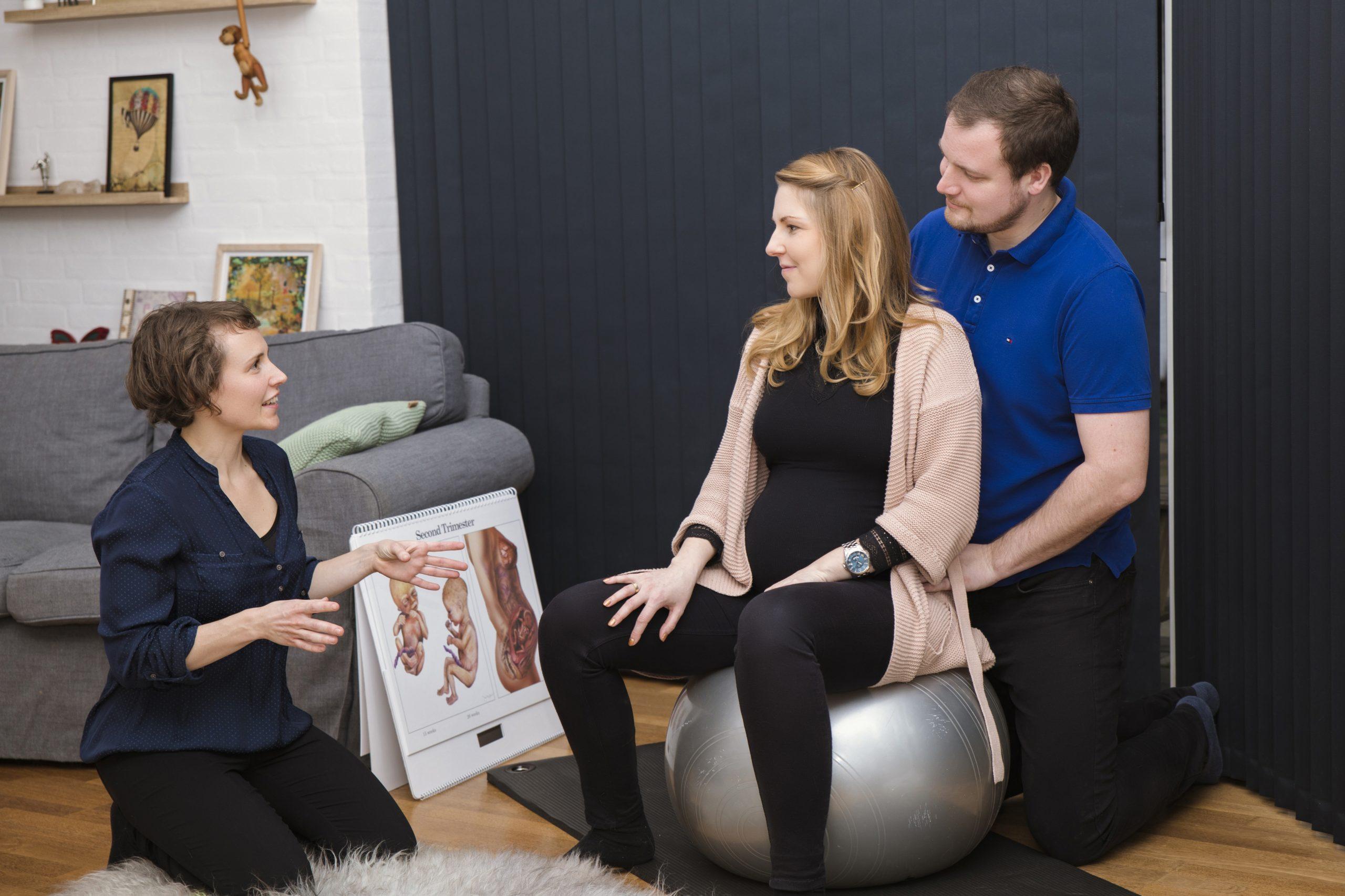 Naturlig smertelindring under fødslen