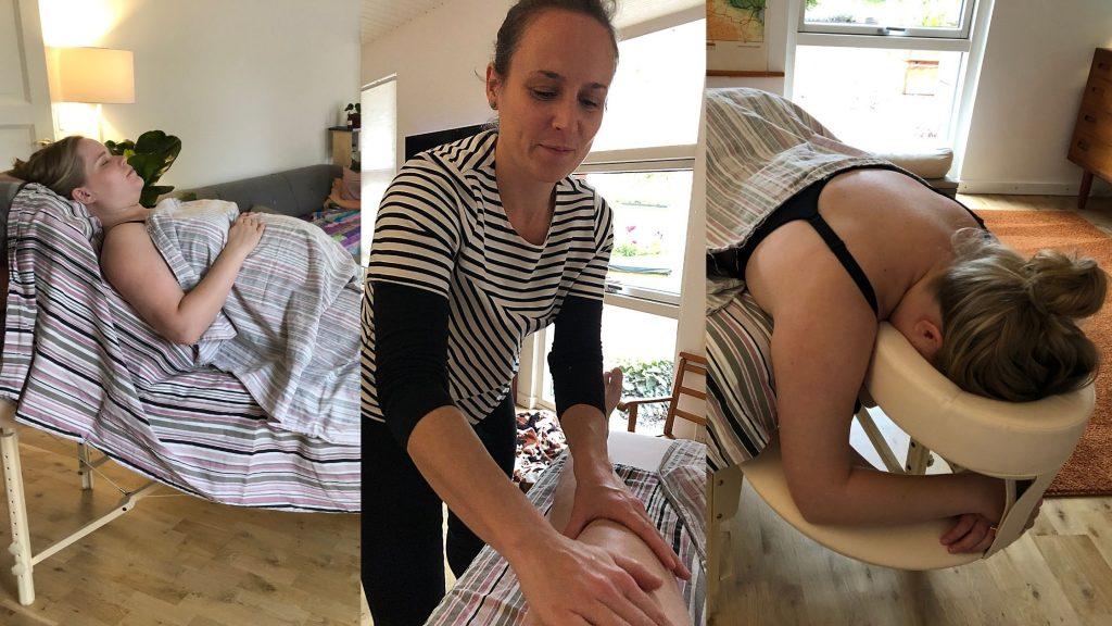 Gravidmassage jordemoder graviditet velvære